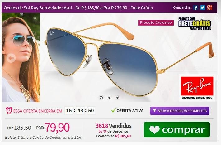 77dc9b6ccfd2f Greice Brigido  Tpm de ofertas  óculos de sol em oferta