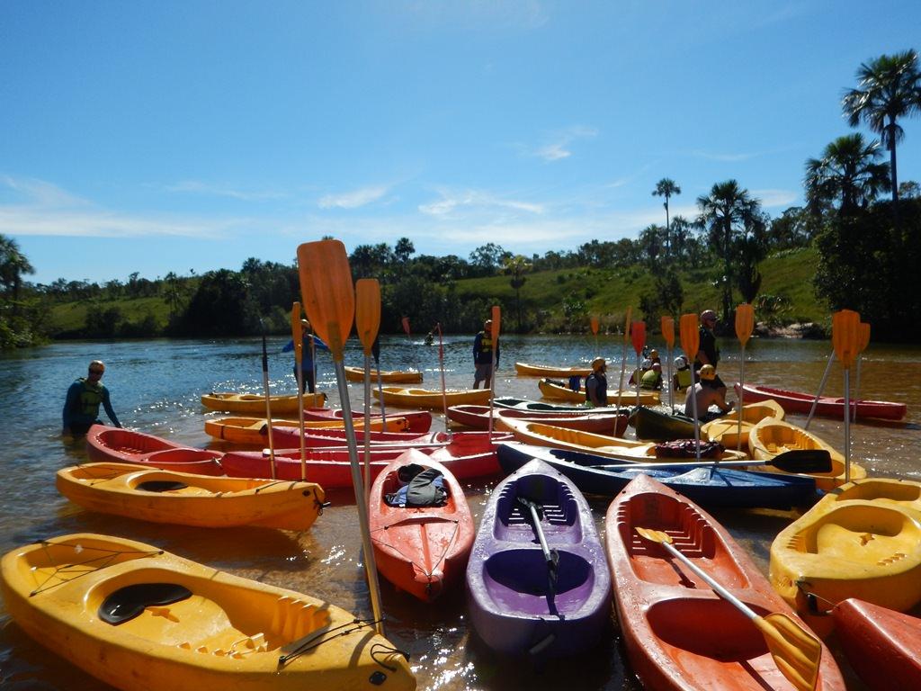 Canoagem no Jalapão