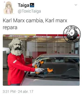 Karl Marx cambia, Karl Marx repara
