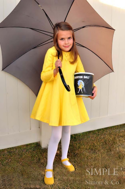 Quick clever Last Minute Diy handmade costume for kids girls woman adults
