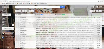 cara mengganti thema di gmail