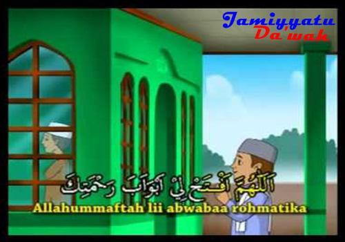 Bacaan Doa Keluar Dan Masuk Masjid