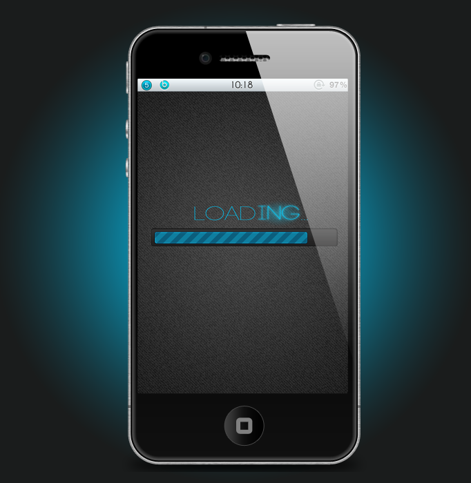 Modi5 Bluenight Hd Iphone 4 Theme-6830