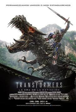 descargar Transformers 4 : La era de la extincion, Transformers 4 : La era de la extincion español