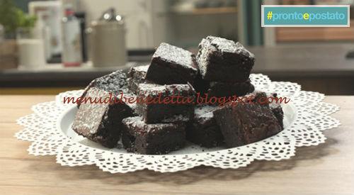 Pronto e postato - Torta di barbabietole ricetta Benedetta Parodi