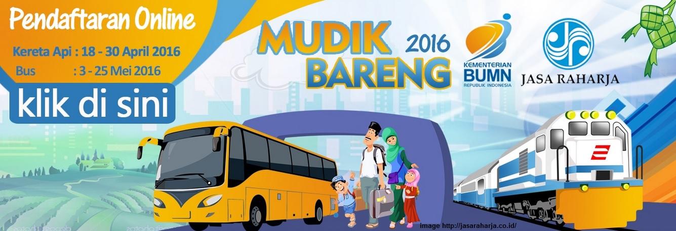 Info Mudik Gratis Jasa Raharja Lebaran Idul Fitri 2016 ...