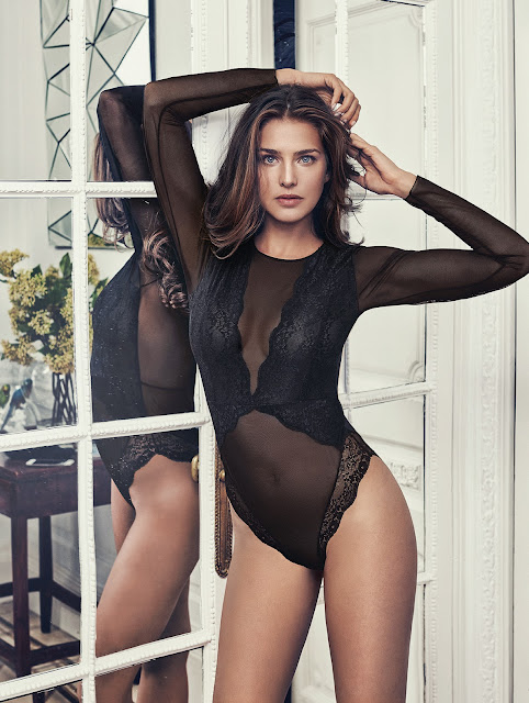 TOTAL BLACK LINGERIE BY PROMISE