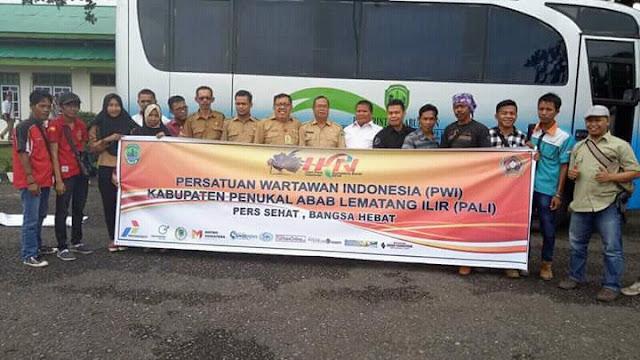 PWI PALI Hadiri HPN di Padang