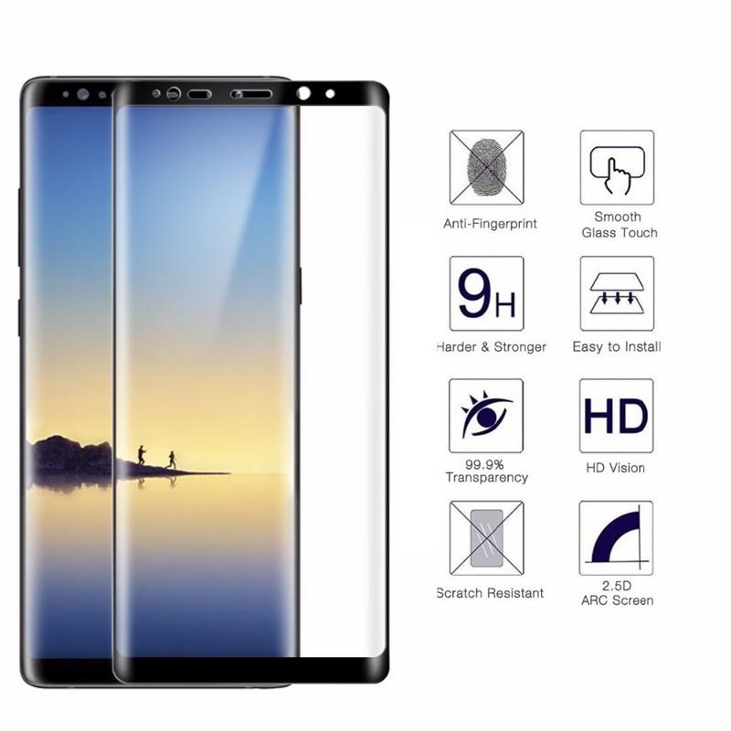 Kết quả hình ảnh cho Dán Note 8 Full màn hình
