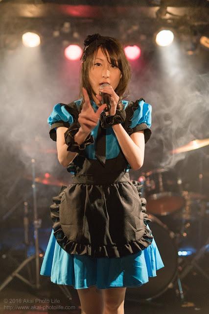 地下アイドル、荒木久乃、モルガーナで撮影したライブの写真