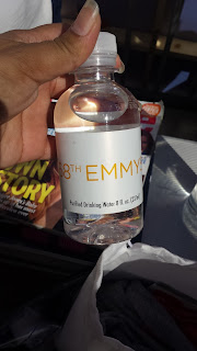 Emmy Awards water bottles