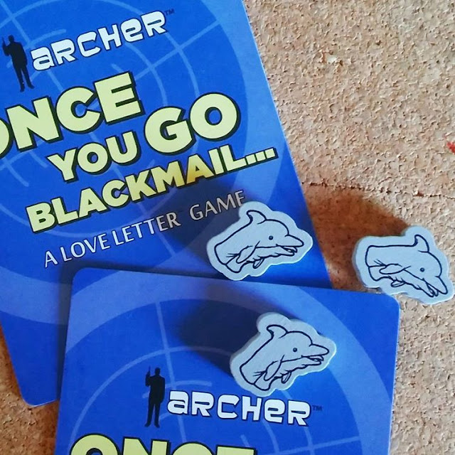 Archer: Once You Go Blackmail Love Letter