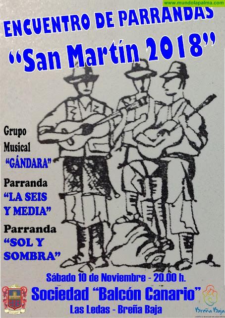 """BALCÓN CANARIO: Encuentro de Parrandas """"San Martín 2018"""""""