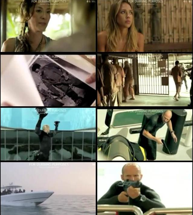 Mechanic Resurrection 2016 Dual Audio Hindi DVDScr