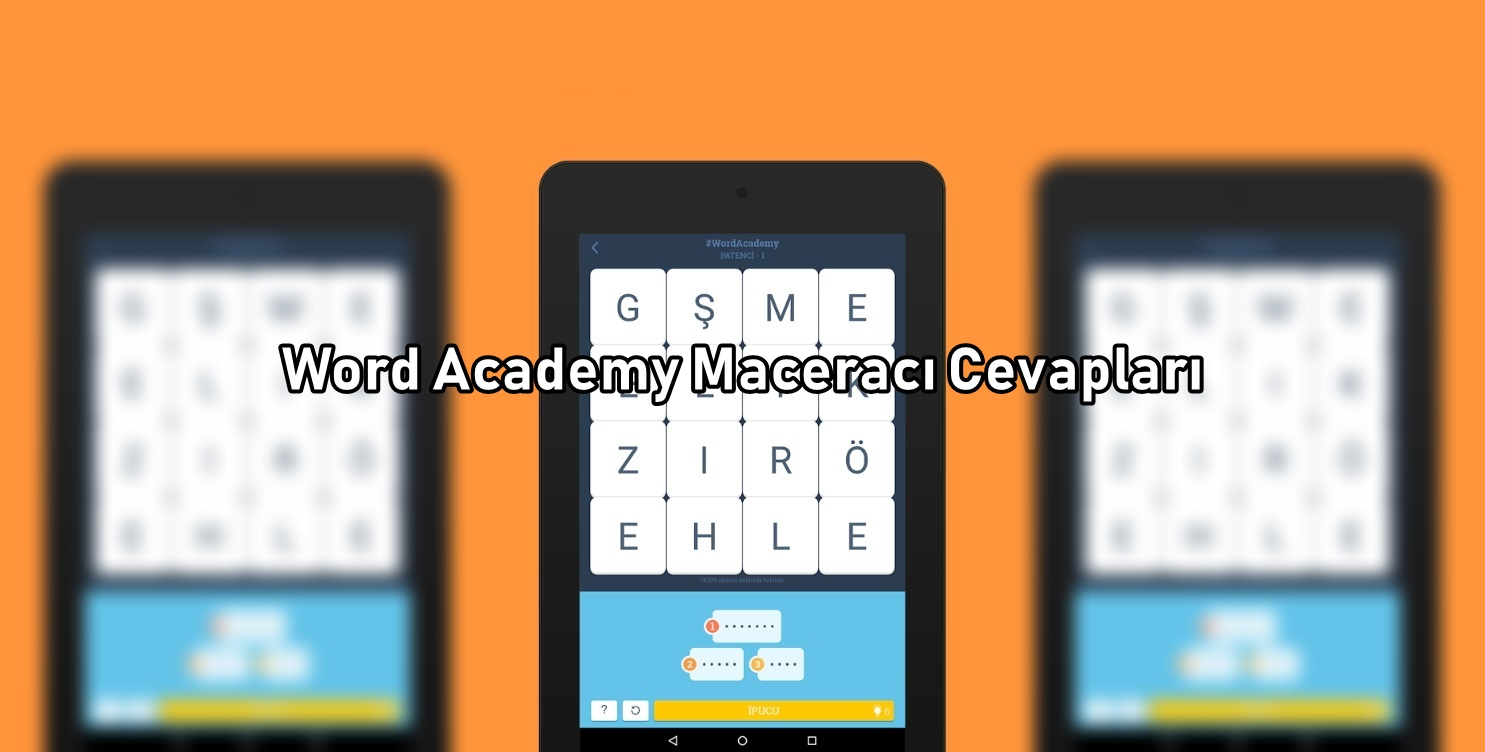 Word Academy Maceraci Cevaplari