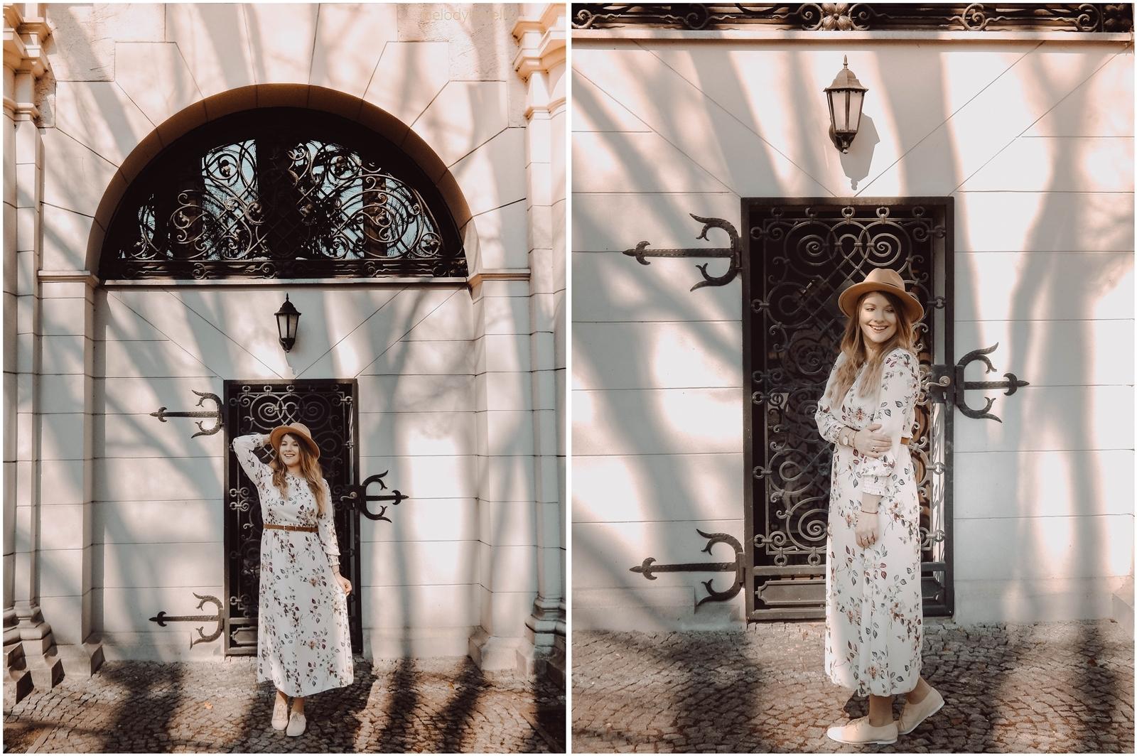 2a maxi sukienka w kwiaty answear jakosc opinie ceny wiosenne trendy 2018 blog moda fashion kapelusz stylizacje boho buty tamaris dodatki parfois