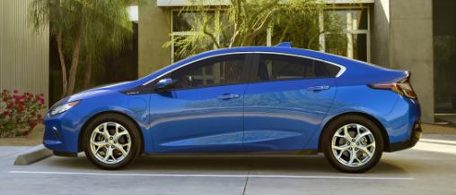 2017 Chevy Volt Exterior