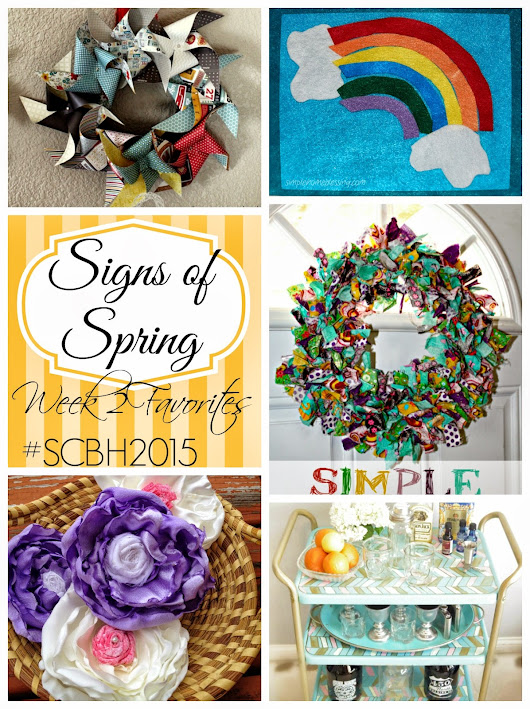 Signs of Spring from the #SCBH2015, Favorites from week 2
