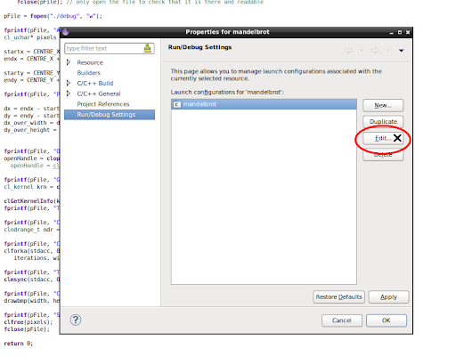 Eclipse Part 2 - Host Debugging with the Runtime Environment
