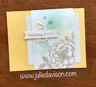 4 April 2019 Paper Pumpkin Sentimental Rose Alternative Projects ~ www.juliedavison.com