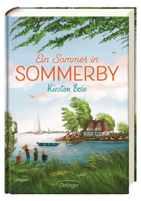 """Das Bücherboot: Von Hühnern und Hasen - Kinderbücher nicht nur für Ostern (+ Verlosung). In """"Sommerby"""" von Kirsten Boie stehen die Hühner für die Alternative zur modernen Welt und werden von den Kindern bald auch liebevoll gepflegt."""