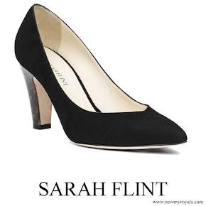 Meghan Markle wore Sarah Flint Jay 100 Tortoiseshell Heel Pumps