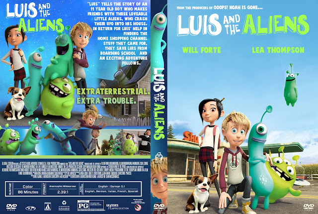 Luis And The Aliens DVD