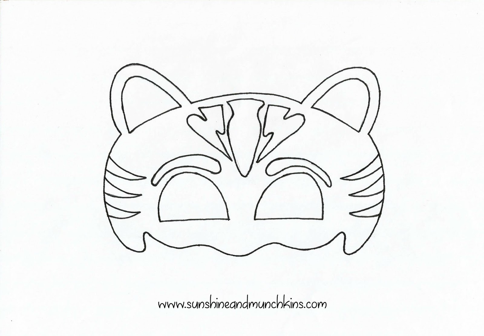 It is a graphic of Impertinent Catboy Mask Printable