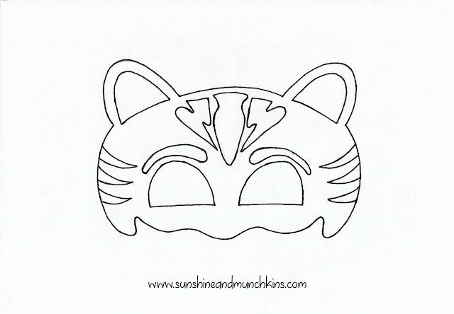 diy owlette and cat boy masks pj masks sunshine and munchkins