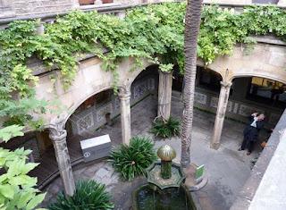 Casa Ardiaca, sede del Archivo Histórico de Barcelona.