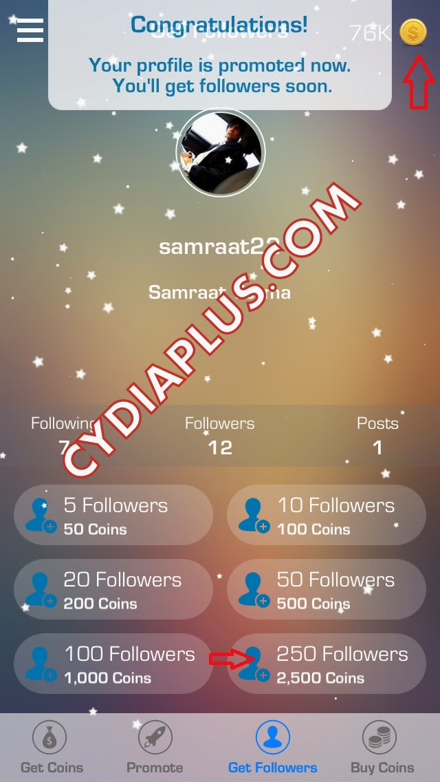 5000 Followers For Instagram Apk Unlimited Coins