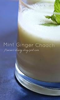 Mint Ginger Chaach
