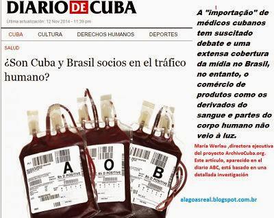 Cuba e Brasil são sócios no tráfico de seres humanos?
