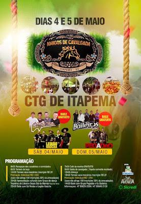 5° Cavalgada Amigos de Cavalgada Itapema