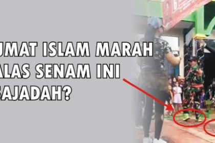 Netizen Muslim Marah Gara-Gara Caleg PDIP Ini Senam di Atas Sajadah