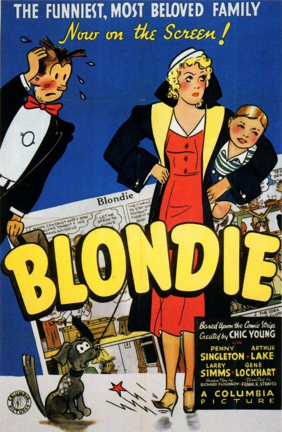 Blondie rides again - 1 1