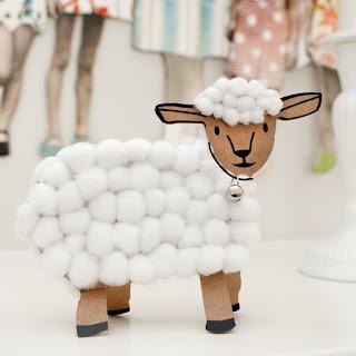 petit agneau jeu créatif a coller création made in france enfant