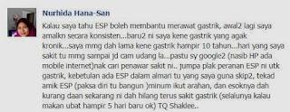 Testimoni ESP Susu Shaklee Cara Menghilangkan Gastrik Cepat
