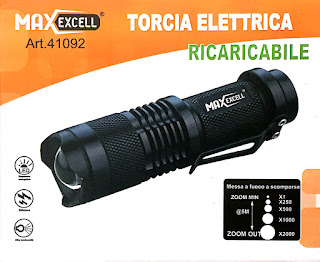 maxexcell led torcia