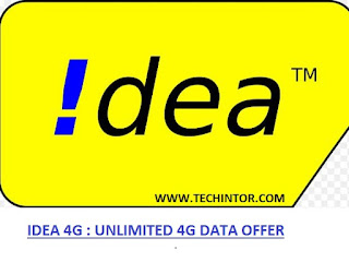 Idea: Get Unlimited 4G Data for Just Rs 1 With 1 Hour Validity