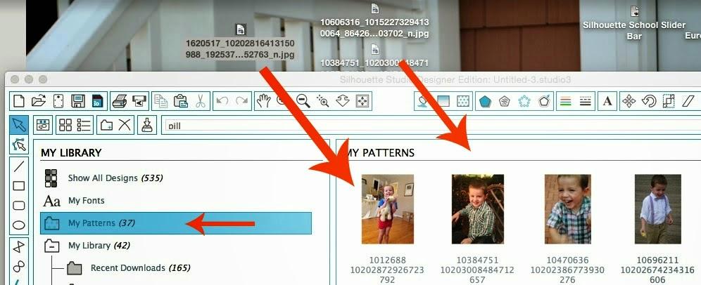 Silhouette tutorial, DIY, do it yourself, personalized, photo stickers, Silhouette Studio