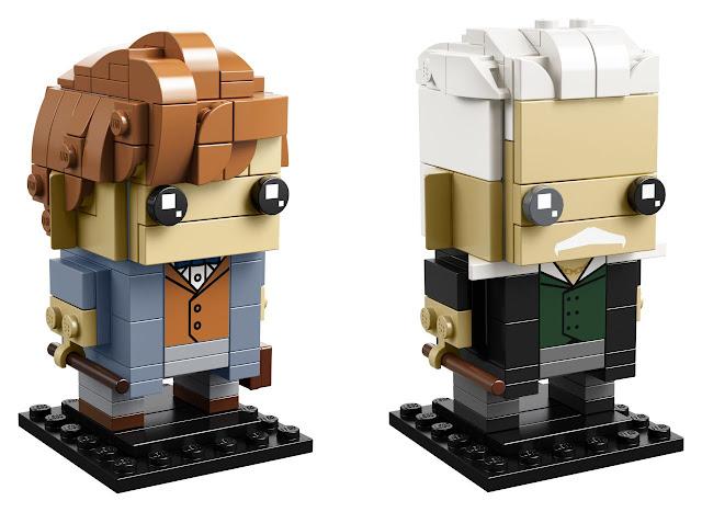 Primeiras fotos da coleção LEGO BrickHeadz de 'Os Crimes de Grindelwald' são divulgadas | Ordem da Fênix Brasileira