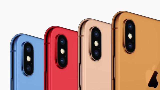los nuevos iphone 2018 vendran en muchos colores
