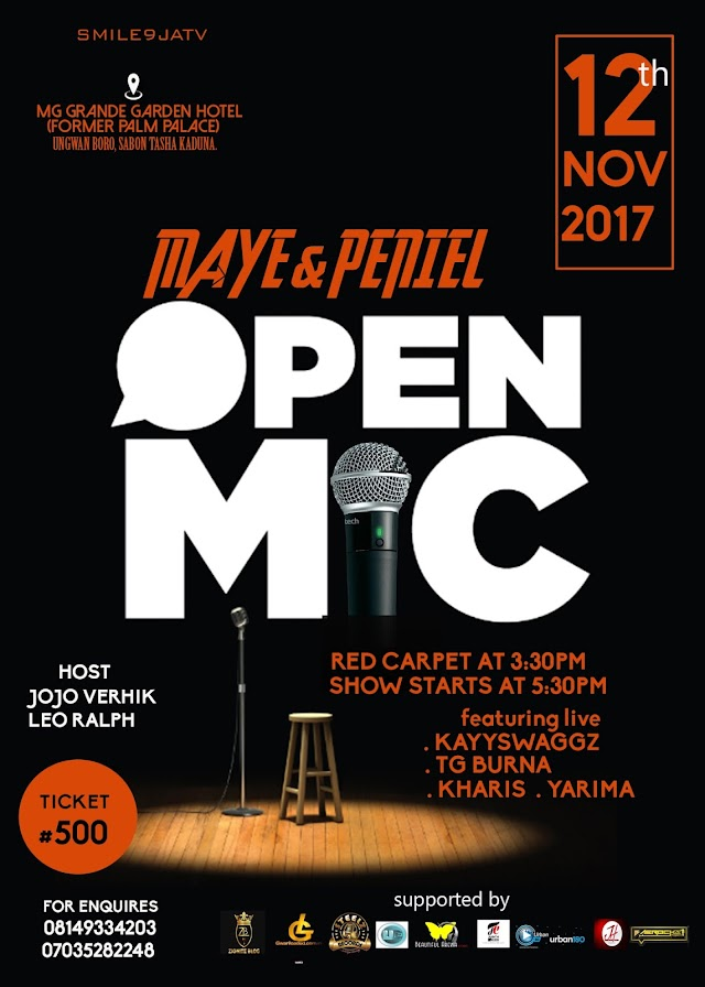 OPEN MIC WITH MAYE AND PENIEL