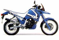 1990 DR800 blue 250 - Suzuki DR800S - a maior monicilindrica do mundo!