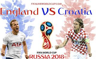 بث مباشر مباراة كرواتيا و انجلترا اونلاين يوتيوب اليوم 11-7-2018 نصف نهائى كأس العالم