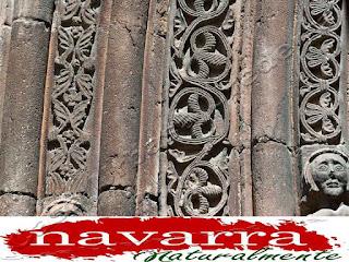 197 Cirauqui Iglesia San Román La Portada Las Arquivoltas  Izquierda  Decoración - www.casaruralurbasa.com