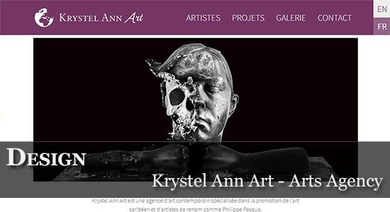Krystel Ann Arts - Agence d'Art Contemporain