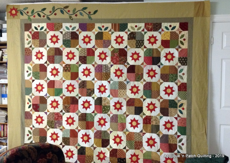 Applique n patch quilting: an oldie but goodie!