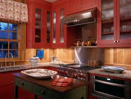 Ideias para Decorar uma Cozinha em Vermelho, num Estilo Rústico